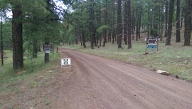 Woody Mountain Road - Waypoint 8: Private Road
