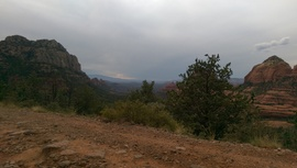 Schnebly Hill Road - Waypoint 8: Sedona overlook
