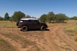 Rocky Sidewinder / 153A - Waypoint 6: Campsite Intersection
