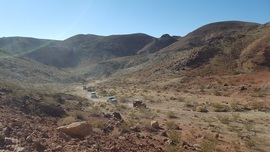 Odessa Canyon - Waypoint 10: Easy Climb up to Phillips Canyon