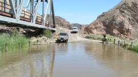 Mojave Road - Waypoint 63: Middle Railroad Bridge