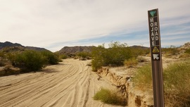 Mojave Road - Waypoint 6: Left/Southwest