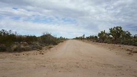 Mojave Road - Waypoint 33: Lanfair Road - Straight