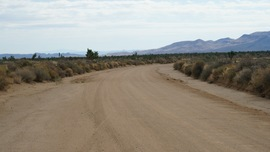 Mojave Road - Waypoint 39: Follow Northwest On Cedar Canyon Road