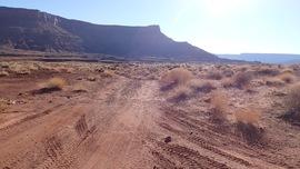 Lockhart Basin - Waypoint 25: Bear Left Main Road / Right for Camp