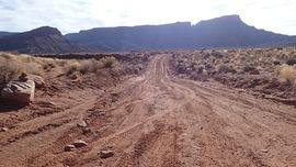Lockhart Basin - Waypoint 35: Lockhart Canyon Trailhead