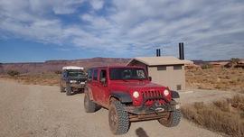 Lockhart Basin - Waypoint 39: Hamburger Rock Campground Area