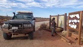 Lockhart Basin - Waypoint 40: Southern Trailhead