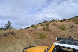 Charouleau Gap / FR# 736 - Waypoint 23: Unknown Hill Climb Spot