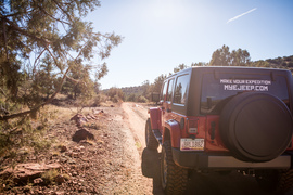 Outlaw Trail - Waypoint 1: Trail Start