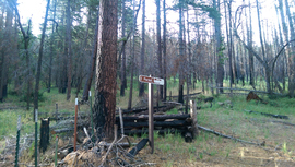 East Pocket Road - Waypoint 32: Closed Gate