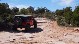 Top of the World - Utah - Waypoint 5: Begin Lollipop Loop - Stay Right for Easy or Left for Hard