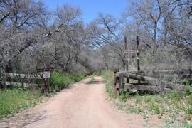 Jackson Cabin/Muleshoe Ranch Road FR #691, Arizona - Waypoint 5: Sign in Kiosk - TrailHead of FR691 4x4