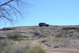 Jackson Cabin/Muleshoe Ranch Road FR #691, Arizona - Waypoint 8: Rig Rock -  Public Land