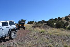 Jackson Cabin/Muleshoe Ranch Road FR #691, Arizona - Waypoint 14: Redfield Canyon Wilderness Boundary