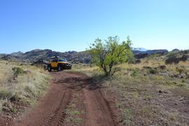 Jackson Cabin/Muleshoe Ranch Road FR #691, Arizona - Waypoint 15: Natural Rock Bridge
