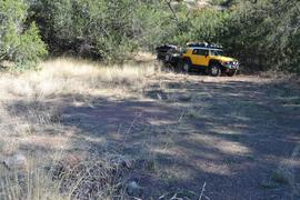 Jackson Cabin/Muleshoe Ranch Road FR #691, Arizona - Waypoint 17: Sycamore Canyon Camp Site(s)