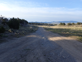 Sidewinder Exit - Waypoint 1: Sidewinder Exit Trailhead
