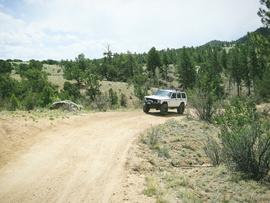 Fourmile Area: Lenhardy Cutoff - Waypoint 3: Hill