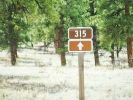 Fourmile Area: Lenhardy Cutoff - Waypoint 5: Shields Gulch