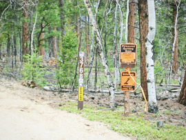 Fourmile Area: Lenhardy Cutoff - Waypoint 6: Million Dollar View