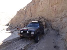 Tectonic Gorge - Ocotillo Wells SVRA - Waypoint 6: Rock Slide