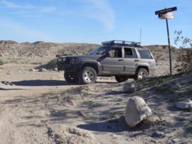 Pumpkin Patch Trail - Ocotillo Wells SVRA - Waypoint 12: Tule Wash