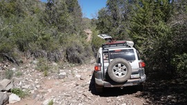 Smiley Rock  - Waypoint 6: Cross Wash and Uphill