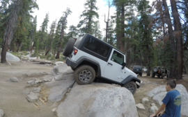 26E212 - Red Lake Trail  - Waypoint 7: Big Rock Option