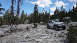26E212 - Red Lake Trail  - Waypoint 9: Slabs