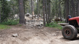 26E212 - Red Lake Trail  - Waypoint 14: End  / Coyote Lake Trail Gate Keeper