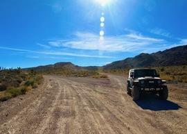 Badger Valley Loop Nevada - Waypoint 14: Merge NE on Badger Road