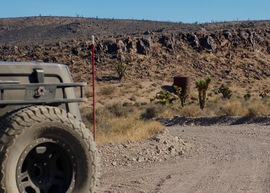 Badger Valley Loop Nevada - Waypoint 12: Take SE road to Medsger Pass