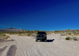Badger Valley Loop Nevada - Waypoint 11: Go SE at Junction with Badger Road