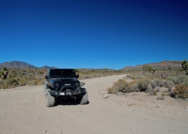 Badger Valley Loop Nevada - Waypoint 9: Head East at Junction with Badger Valley Loop Road