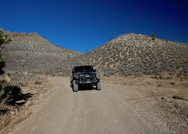 Badger Valley Loop Nevada - Waypoint 5: Continue South on Main Road