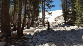 Dusy-Ershim  Trail - Waypoint 4: Start of the Trail