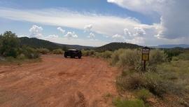 Oak Creek Homestead - Waypoint 1: Trailhead - Red Rock Loop Rd.