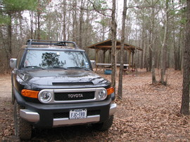 Barnwell Mountain - Waypoint 4: Camping