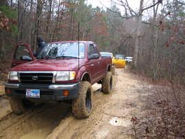 Barnwell Mountain - Waypoint 6: Muddy Trail