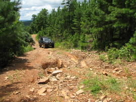 K-Trail Western Half - Waypoint 2: Obstacle