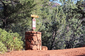 Broken Arrow - Waypoint 5: Hiking Trail Parking