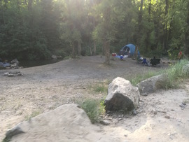 Lower Mill Canyon - Waypoint 2: Group Site