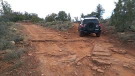 Oak Creek Homestead - Waypoint 14: 9845 & 9845N Intersection