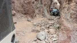 Doran Canyon - Waypoint 4: Narrow Canyon