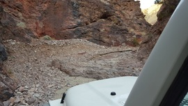 Odessa Canyon - Waypoint 6: 3 Foot Waterfall