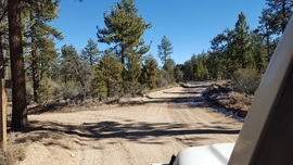3N16 - Holcomb Valley - Waypoint 18: Go Straight at 3N32 Intersection (Union Flat)