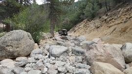 3N93 - Holcomb Creek Trail - Waypoint 2: West Rock Garden