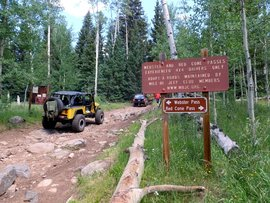 Red Cone - Waypoint 1: Trailhead