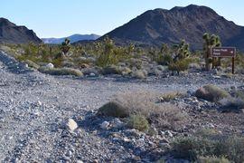 Mormon Well Road  - Waypoint 3: Gass Peak Turn